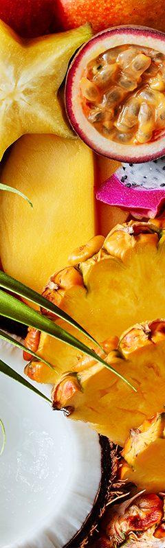 Website Tropical Fruit Texture